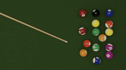 Pool cues of intermediate