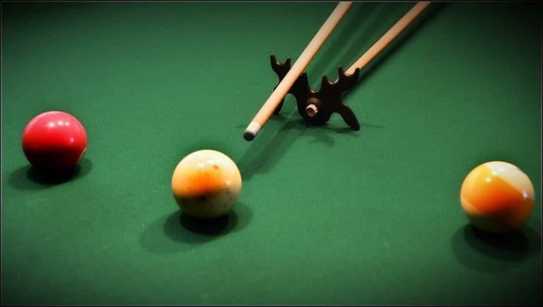 training pool ball