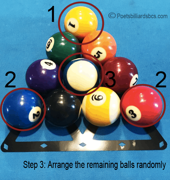 How to rack 10 ball diagram
